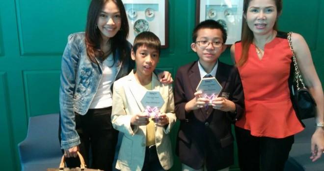 งานรับรางวัลTrinity Award 2013 กับรางวัลอาจารย์ดีเด่นของครูเต๋า